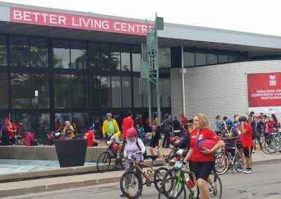 outside Better Living Center